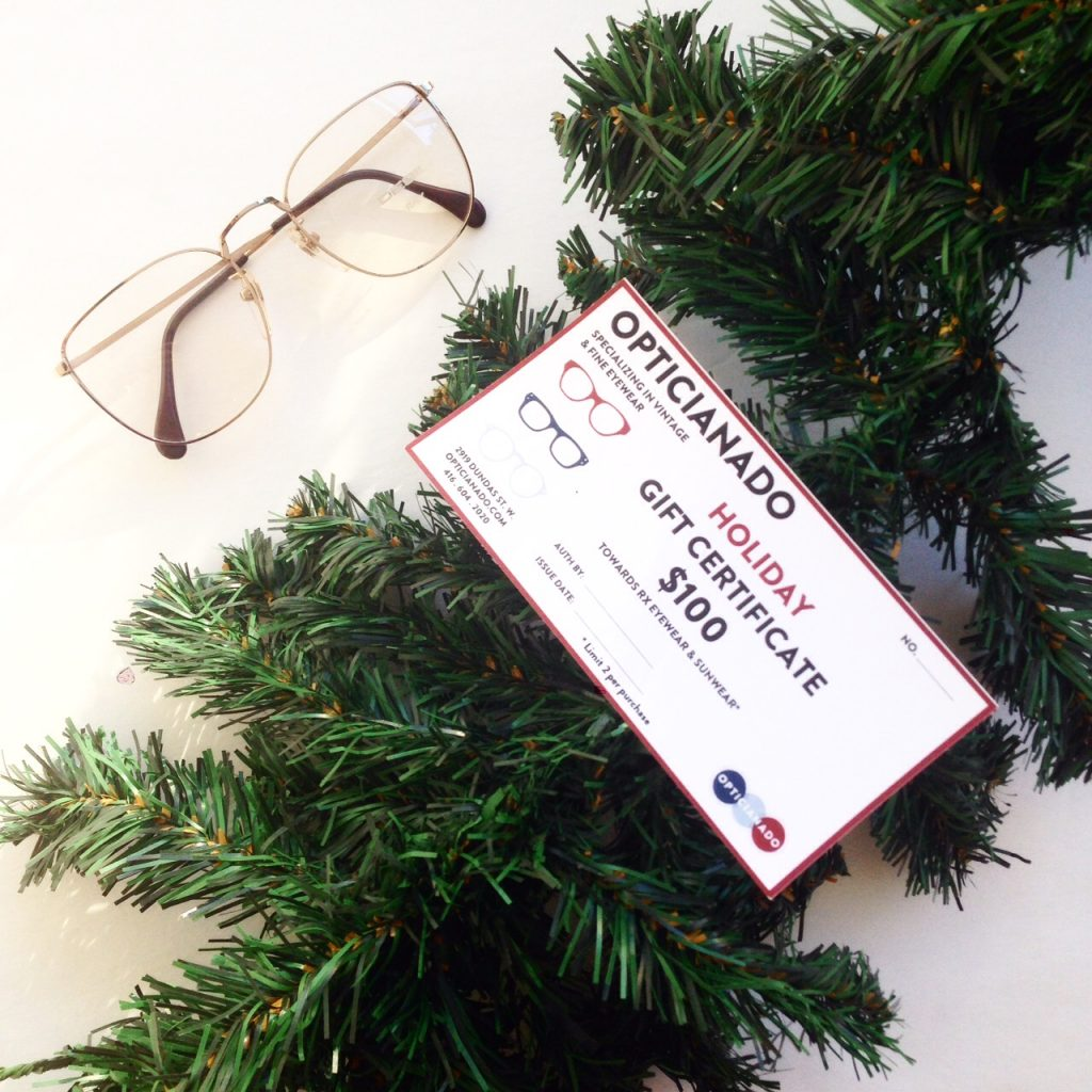 holiday gift certificates opticianado please note that one redeem a maximum of 2 gift certificates per purchase gift certificates are applicable only to prescription frames or sunglasses